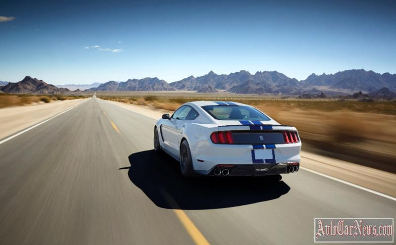 2018 Ford Mustang Shelby GT350 Sports Car  Model Details
